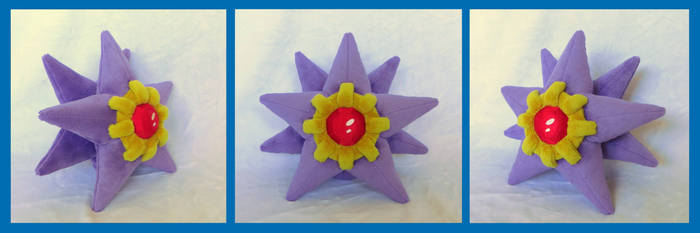 Starmie by fireflytwinkletoes
