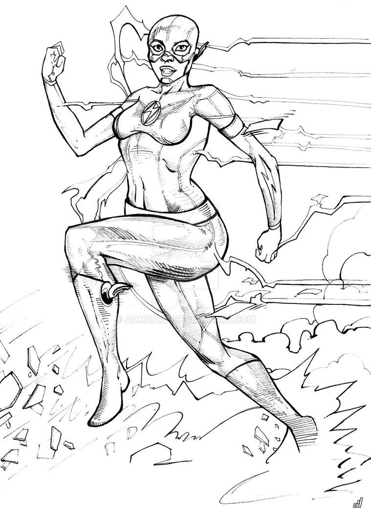 Female Flash Inks by ADMDArt