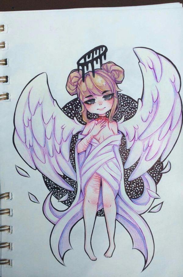 Fallen angel by Belie45