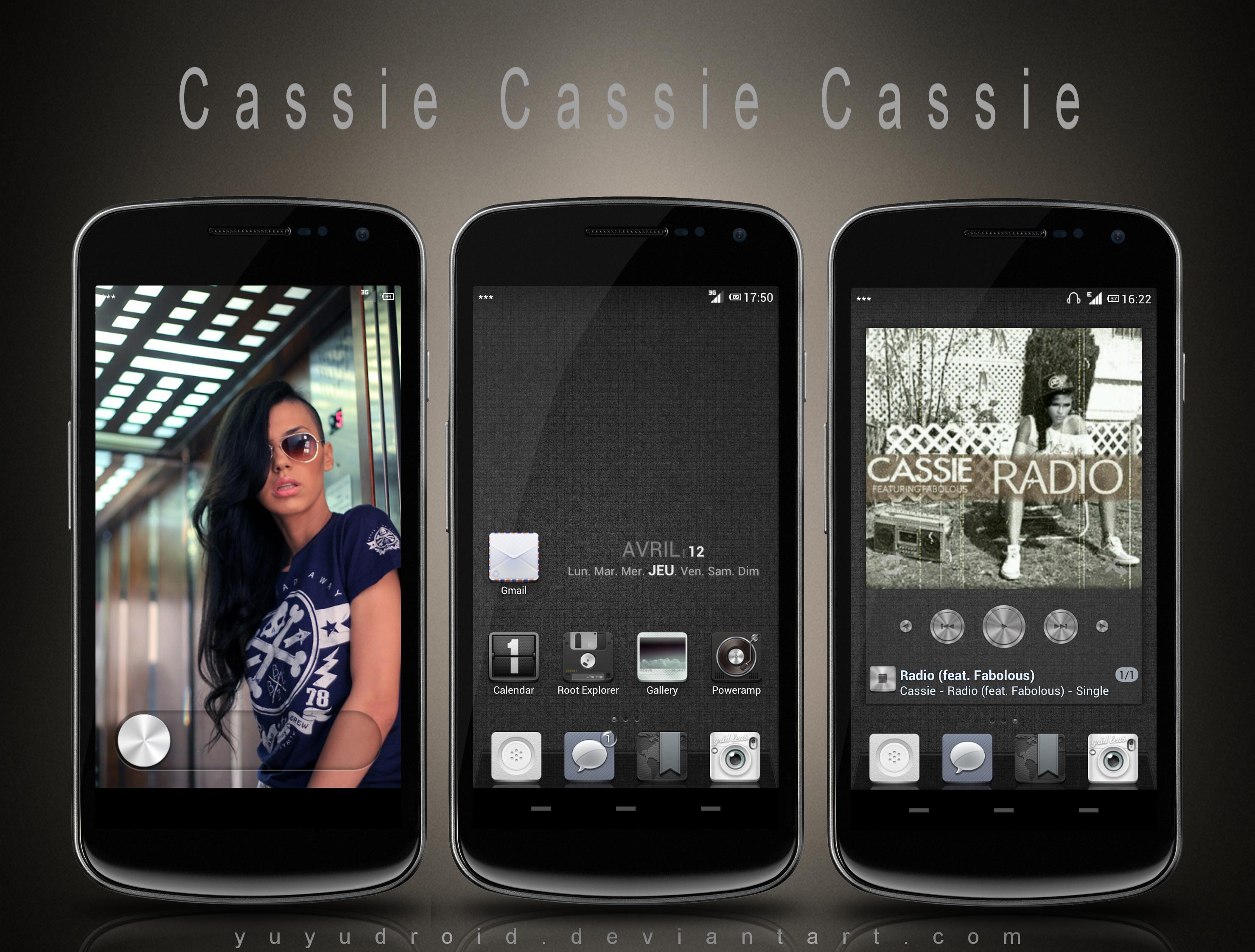 Cassie Cassie Cassie by yuyudroid