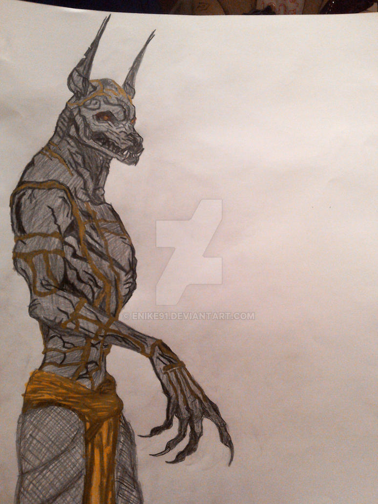 Anubis From Gods Of Egypt Movie By Enike91 On Deviantart