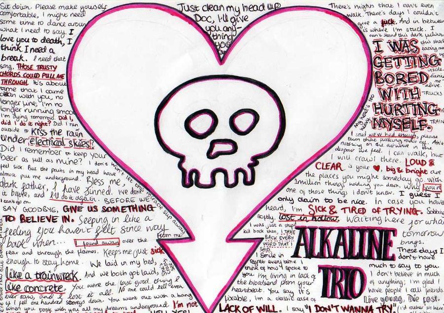 Alkaline Trio lyrics by spleen0000