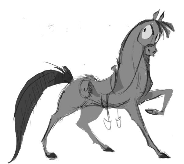 Spradley Quick Sketch by carriehankins