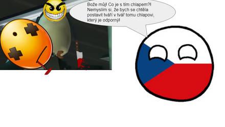Czechia watching a gameplay video