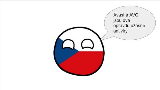 What antivirus Czechia reccomends
