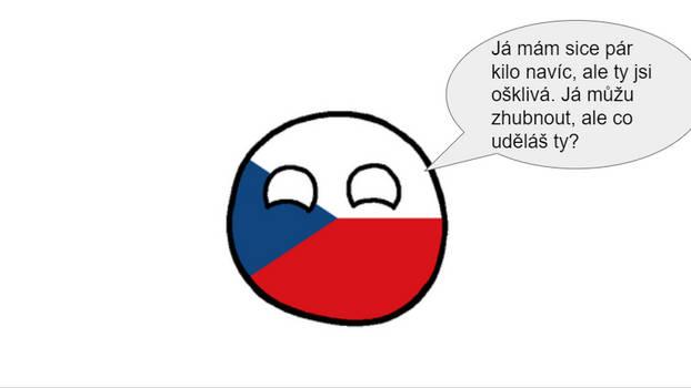 Czechia roasting someone