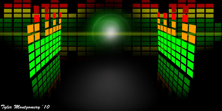 Music Equalizer Wallpaper: Equalizer Wallpaper By T-Man666 On DeviantArt