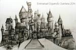Hogwarts Castle- Sketch