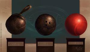 Evolution of the Quidditch Quaffle