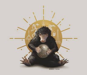 Niffler. The Crimes of Grindelwald.