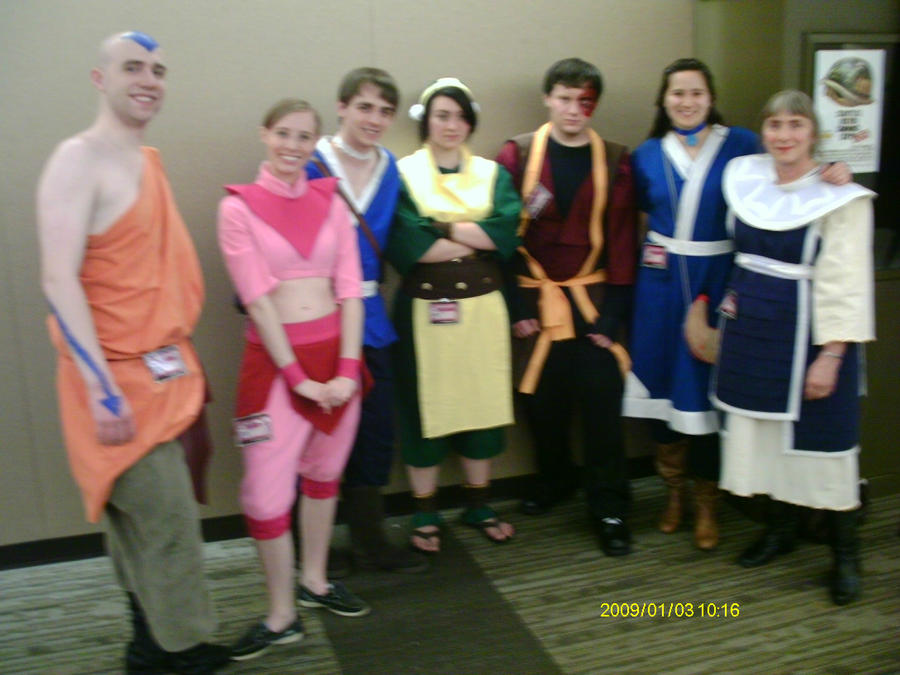 Cast Of Avatar The Last Airbender By THKNNofNUL