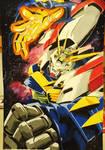 Burning Gundam- Erupting Burning Finger!