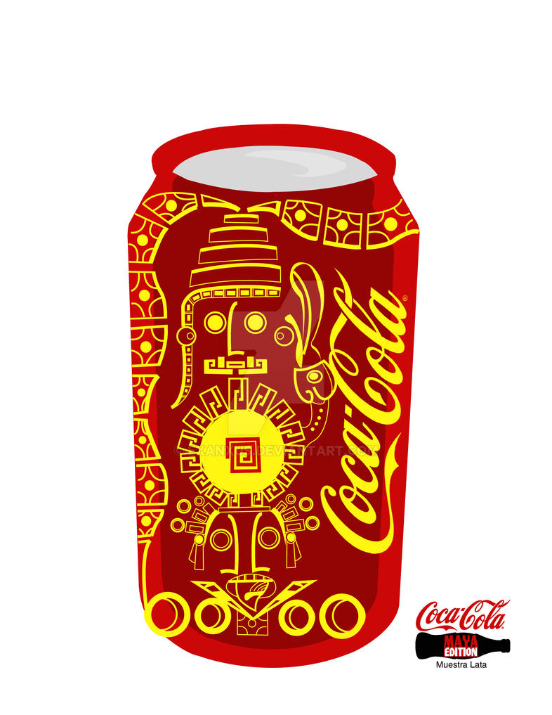 Coca cola maya edition lata by exanxus on deviantart - Coca cola edition limitee ...