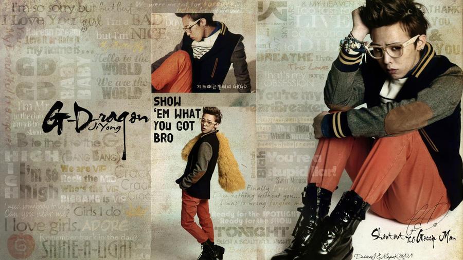 G Dragon 2013 Wallpaper G-Dragon Lyrical Wallpaper