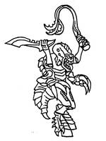 warhammer 40000 tyranid brood warrior by Kaal979