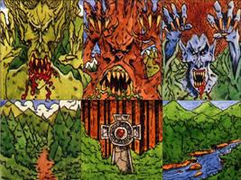 Warhammer Talisman Woods Guardians by Kaal979