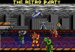 THE RETRO PARTY - DESKTOP by Kaal979