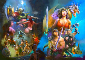 2015   Golden Axe 2 By Vandrell Redone by Kaal979
