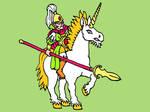WoodElves Unicorn Knight Colour V2