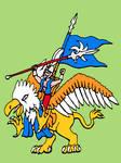 warhammer highelves hero griffon mount v2