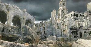 Lord Of The Rings Osgiliath WallPaper by Kaal979