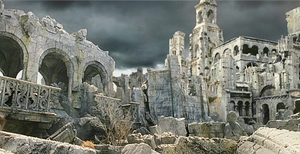 Lord Of The Rings Osgiliath WallPaper + Depth V2 by Kaal979