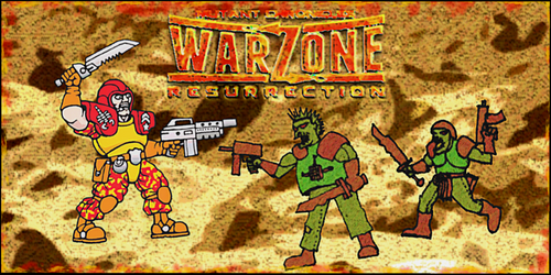 WARZONE Resurrection Capitol Desert Scorpion by Kaal979