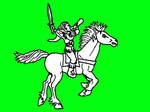 warhammer woodelves gladerider musician