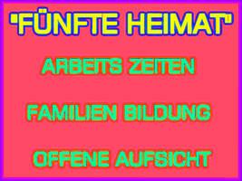 -Fuenfte Heimat Deutschland- Plakat by Kaal979