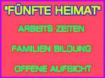 -Fuenfte Heimat Deutschland- Plakat