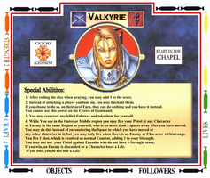 The Talisman-Slayer Valkyrie V4 by Kaal979