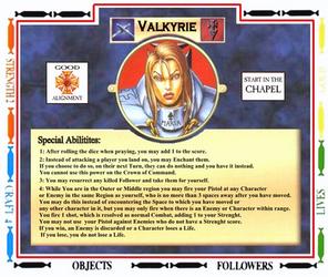 The Talisman-Slayer Valkyrie V4