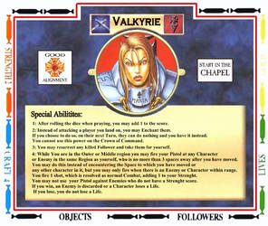 Talisman-Slayer Valkyrie V4 Halfed Pixels