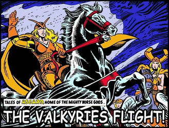 Asgard - The Valkyries Flight by Kaal979