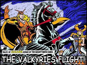 Asgard - The Valkyries Flight