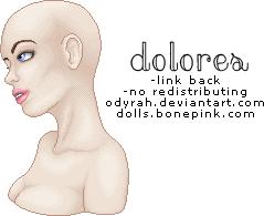 Dolores Portrait Base by Odyrah
