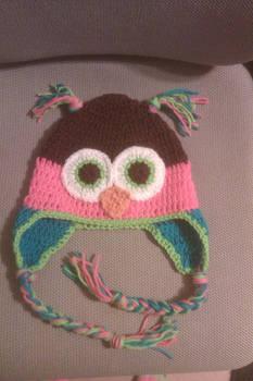 Crochet Owl Hat 2