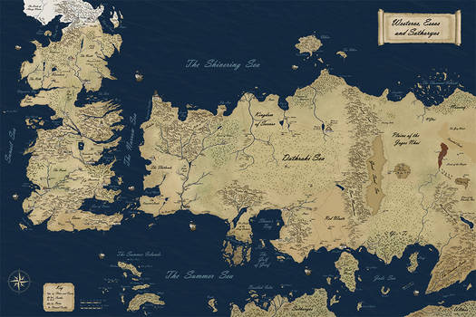 New Official Westeros Map