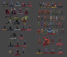 Evolution of The Avengers Uniforms