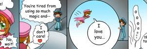 Leap of love by hypercrabby