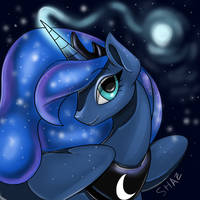 Princess Luna Pin by commander-booty-call