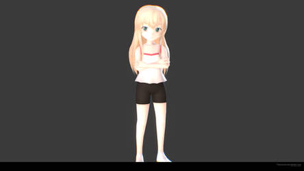 Misha 3D by Tidusyuna