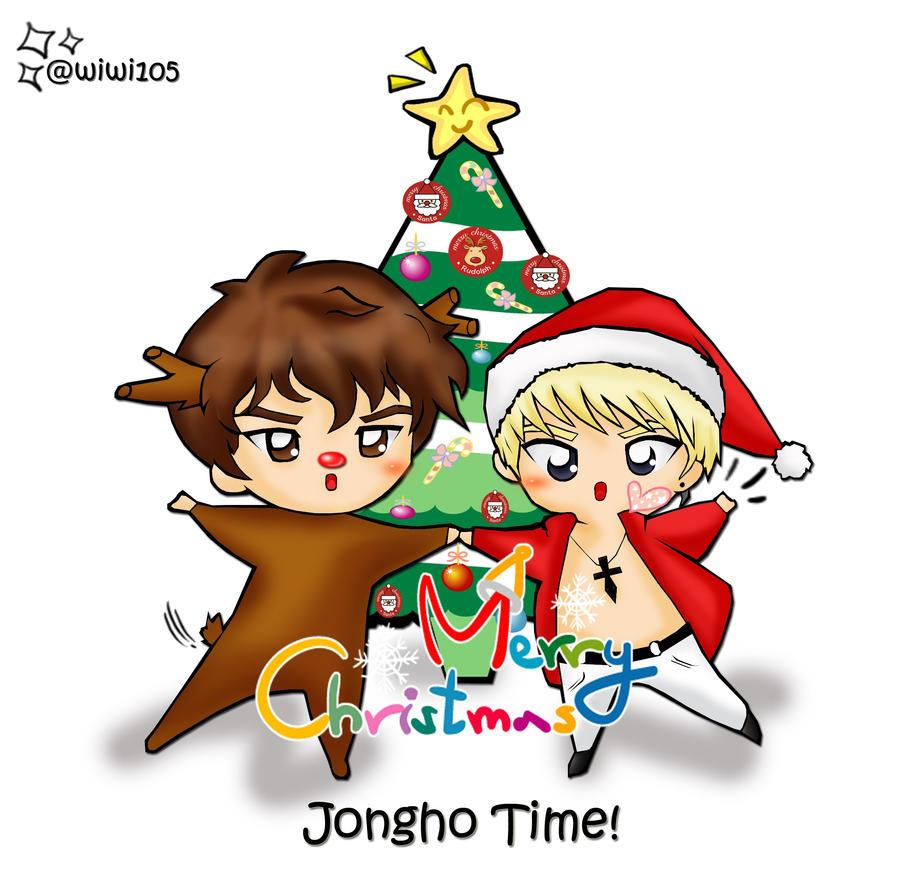 JongHo ~ Merry Christmas by MikoKikyou105