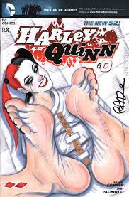 Brendan recommend best of hentai foot harley fetish quinn