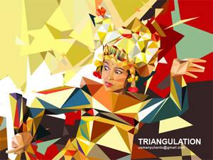Bali Dancer in TRIANGULATION