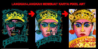 Pixel art with adobe Flash by usmany