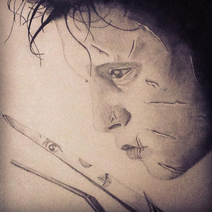 Edward Scissorhands by AkidnamedLon