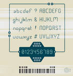 Rounded-1 typeface
