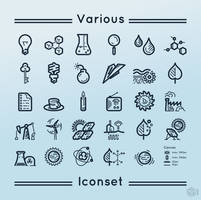 Various iconset