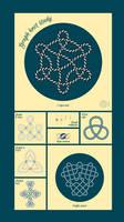 Graph knot study